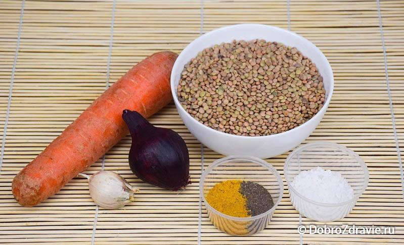 Салат из чечевицы - вегетарианский рецепт приготовления с фото