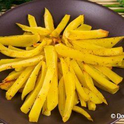 Картофель фри в духовке - вегетарианский рецепт приготовления с фото