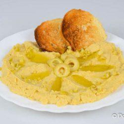 Хумус из нута - вегетарианский рецепт приготовления с фото