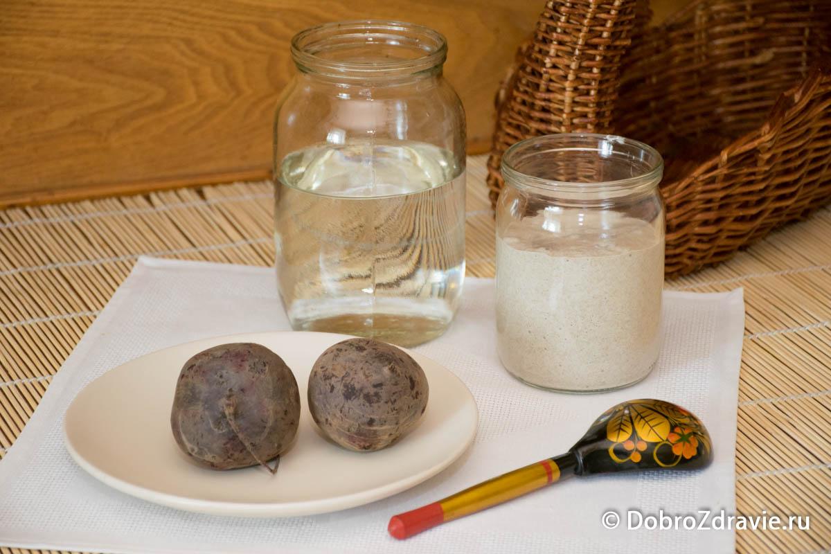 Свекольный квас на закваске в домашних условиях – пошаговый рецепт приготовления с фото