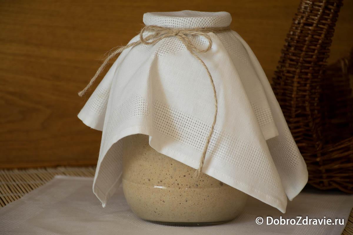 Ржаная закваска - приготовление: шаг 4