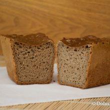 Чёрный ржаной хлеб на опаре