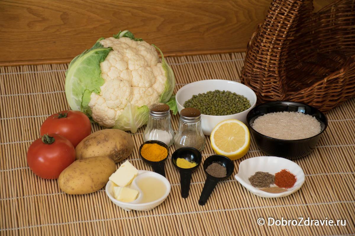 Кичри (кичари) с машем – пошаговый рецепт приготовления с фото