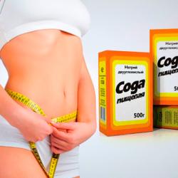 Сода для похудения – как похудеть с помощью пищевой соды, отзыв