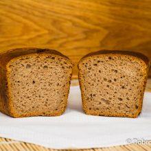Ржано-пшеничный (серый) хлеб на закваске