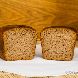 Домашний ржано-пшеничный (серый) хлеб на закваске - пошаговый рецепт приготовления с фото