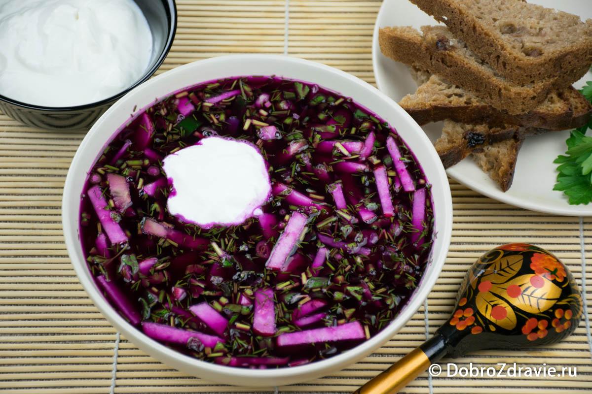 Традиционная окрошка на квасе – старинный пошаговый рецепт приготовления с фото