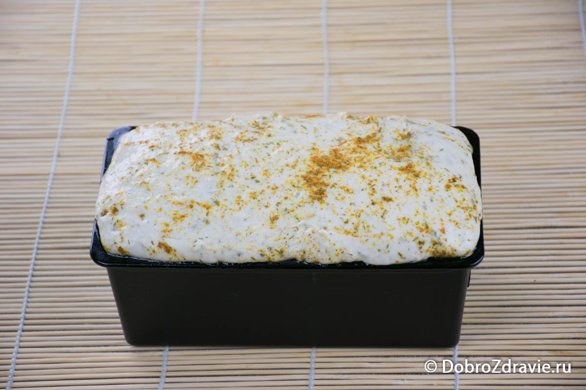 Пшеничный хлеб с оливковым маслом и травами на ржаной закваске - пошаговый рецепт приготовления с фото