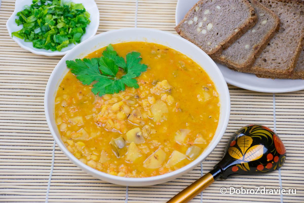картинка горохового супа настоящее время она