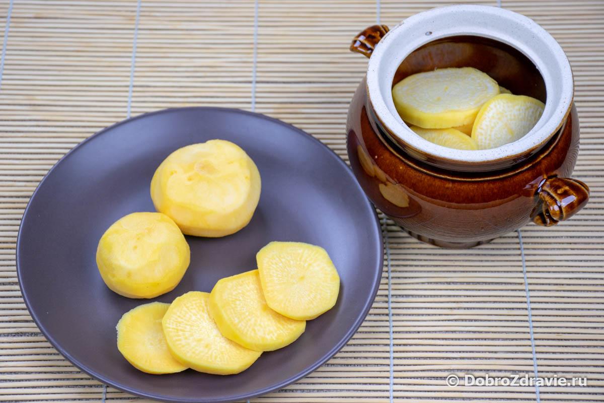 Пареная репа в духовке – пошаговый рецепт приготовления с фото