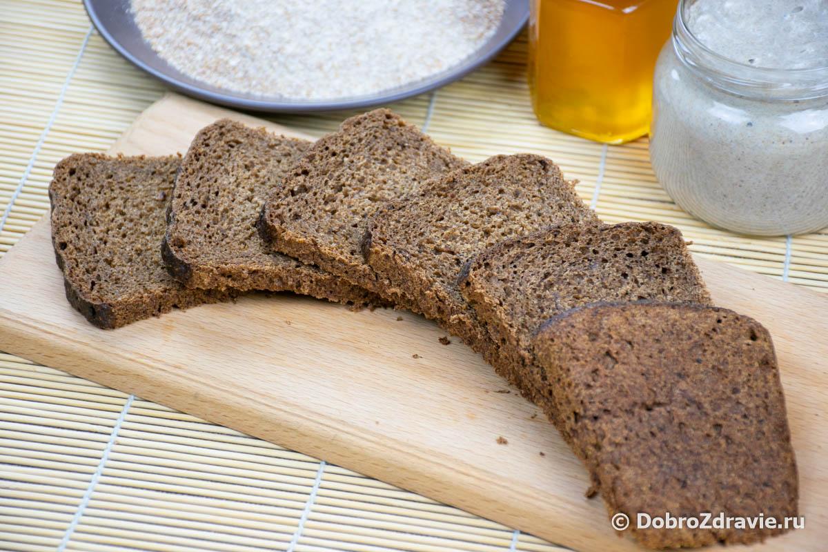 Цельнозерновой хлеб с солодоми и отрубями на закваске - пошаговый рецепт приготовления с фото