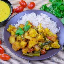 Сабджи (индийское овощное рагу)