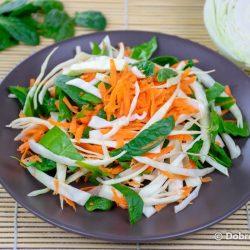 Салат «Метёлка» («Щётка») для очищения кишечника и похудения – классический рецепт с фото