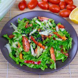 Салат из пекинской капусты и огурцов – вегетарианский пошаговый рецепт приготовления с фото