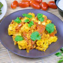Таматар панир малай (жареные помидоры с сыром)