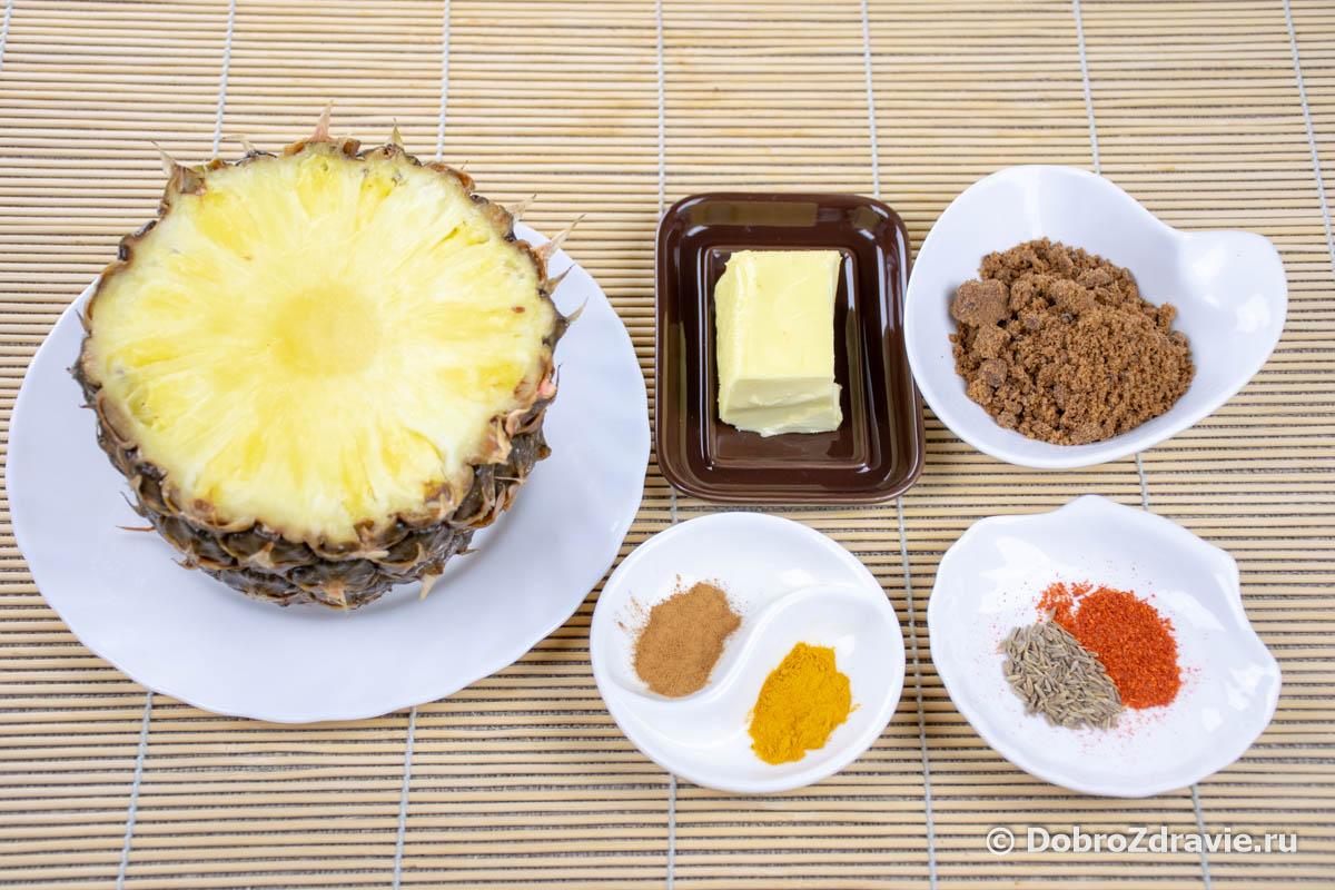 Ананас ки чатни - ананасовая приправа – индийский вегетарианский рецепт приготовления с фото