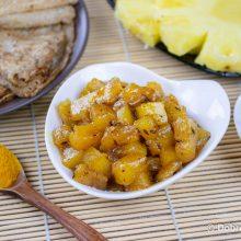 Ананас ки чатни — ананасовая приправа
