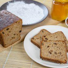 Ржаной хлеб с изюмом на закваске